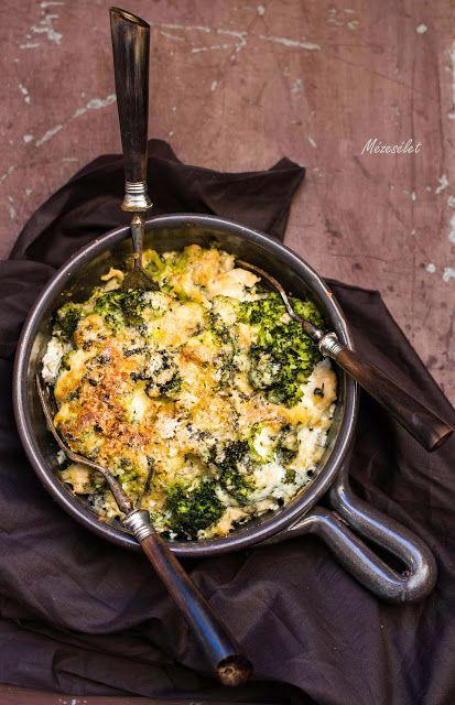 Mézesélet: Csirkemelles-brokkolis egytálétel