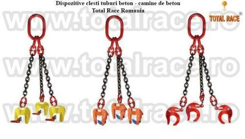 Dispozitive de ridicat camine beton , clesti tuburi beton disponibile din stoc Bucuresti Magazin online : www.echingi.ro