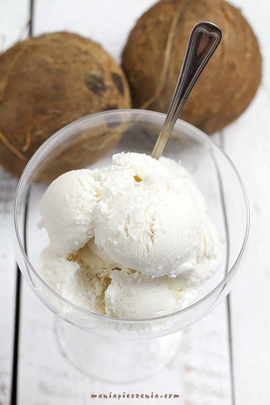 Wyborne, mega kokosowe lody o smaku prawdziwego orzecha kokosowego a nie tylko sztucznie aromatyzowane kokosowym aromatem jak to w skle...