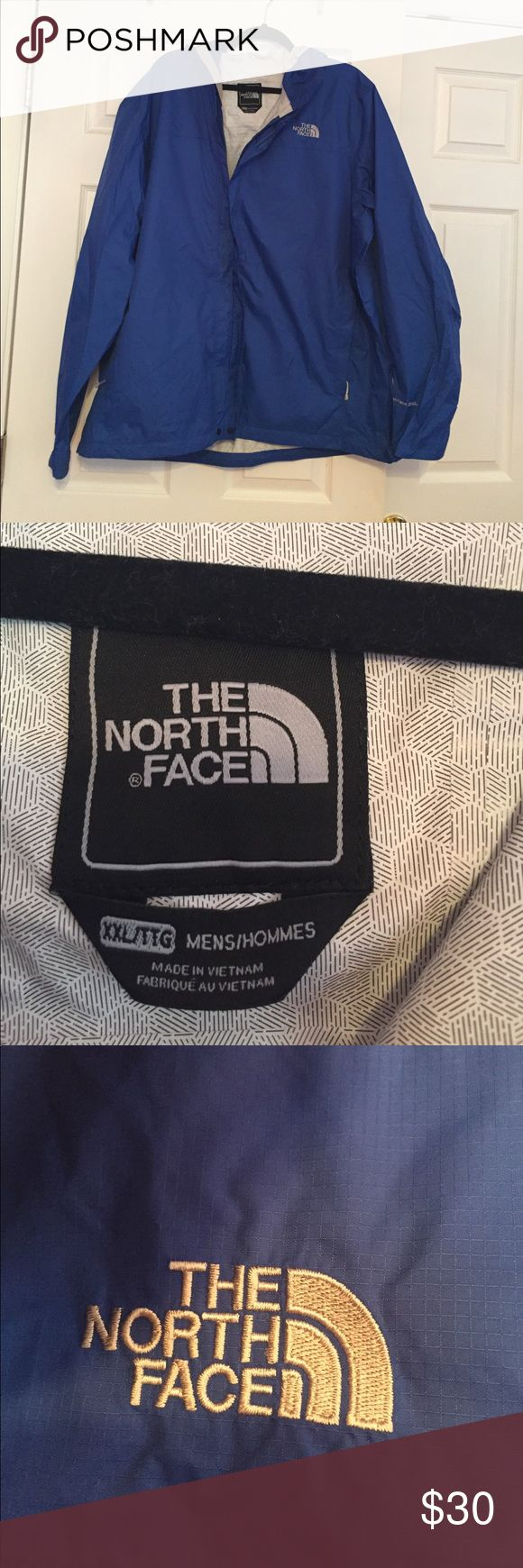 *NEW* North Face rain jacket Tags taken off but never worn, brand new North Face men's rain jacket with hood in perfect condition North Face Jackets & Coats