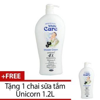 Mua ngay Sữa tắm Unicorn White Care 1.2L + Tặng 1 chai cùng loại chính hãng giá tốt tại Lazada.vn. Mua hàng online giá rẻ, bảo hành chính hãng, giao hàng tận nơi, thanh toán khi giao hàng!