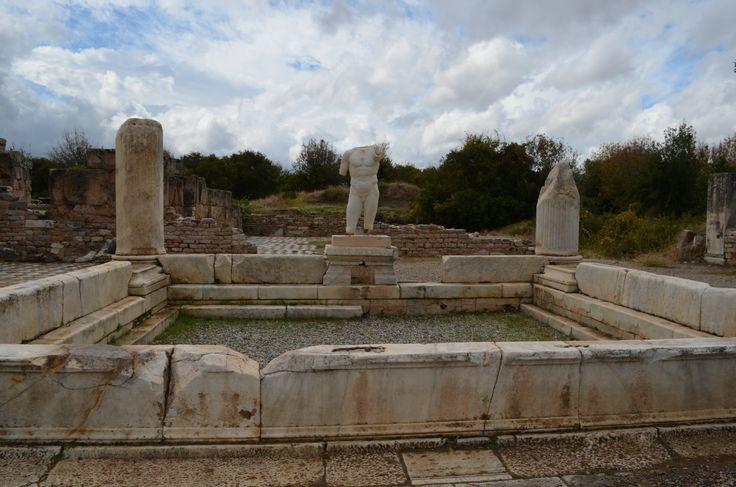 the baths of Empereur Hadrian in Aphrodisias