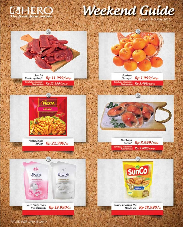 Weekend Guide promo (03 - 05 May 2013)