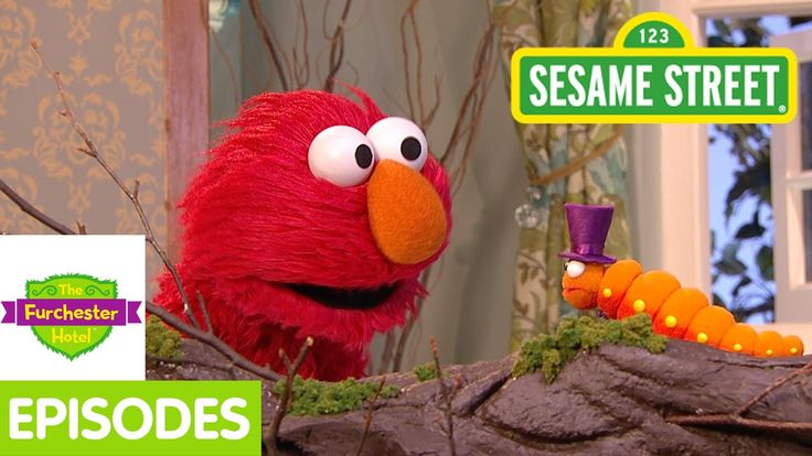 Furchester Hotel: Elmo and Phoebe Discover a Butterfly