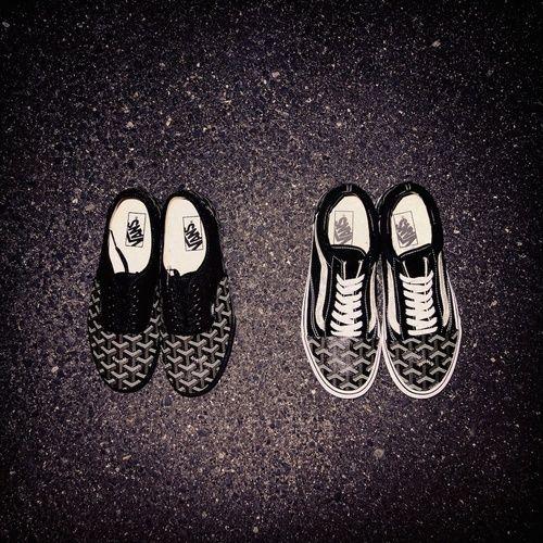 goyard × vans