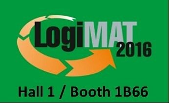 You can visit us inStuttgart from the 08th until the 10th March 2016 on the LogiMAT the International Trade Fair for Distribution Materials Handling and Information Flow which sets new standards as the biggest annual intralogistics exhibition in Europe.You can find us in hall 1 booth 1B66…