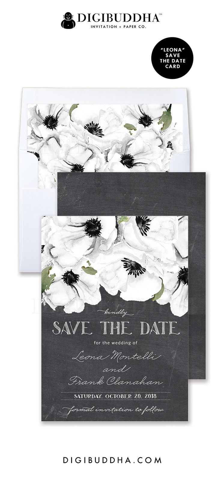 23 Best Digibuddha Save The Date Cards Images By Digibuddha On