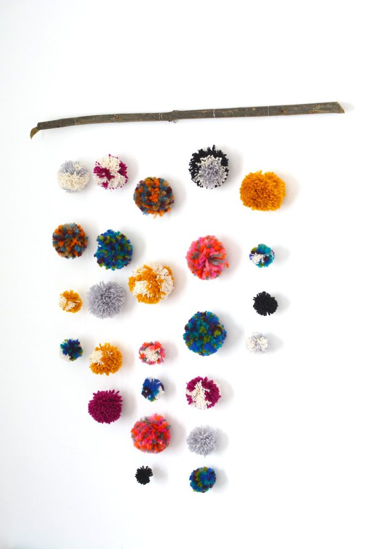 Pom Pom Wall Hanging 143 best weaving / macrame / pompom images on pinterest | wall