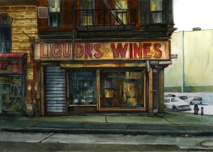 Pin by Keith Larson on Painting Urban sketchers, Urban