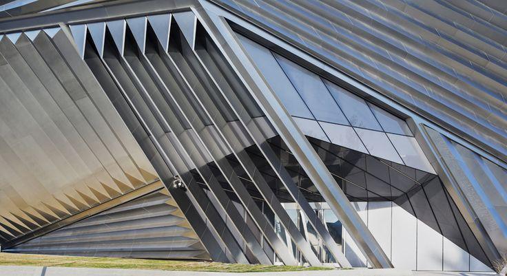 Eli and Edythe Broad Art Museum, Zaha Hadid Architects