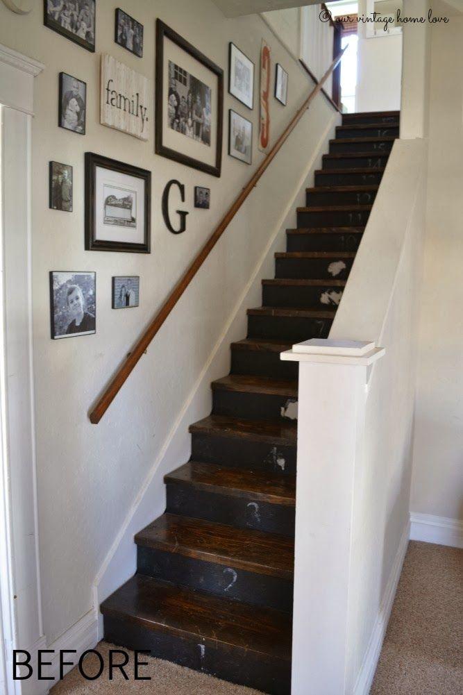 Best Our Vintage Home Love Basement Pinterest Stairways 400 x 300
