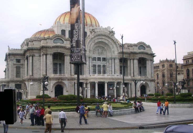Mexico, palais des Beaux Arts.