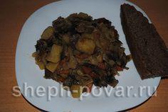 Тушеная капуста с картошкой и грибами быстро и вкусно