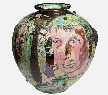 MAD KID'S BEDROOM WALL POT - GRAYSON PERRY
