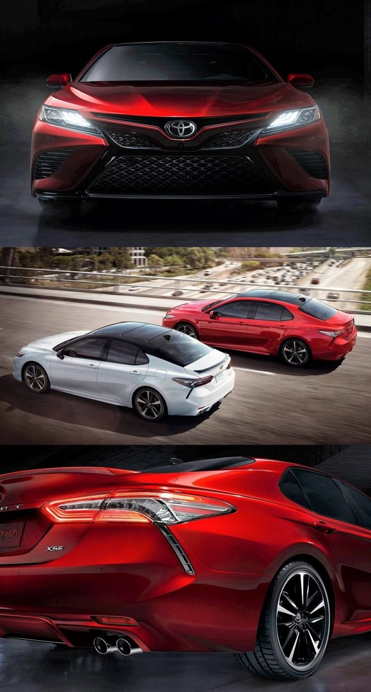 2018 Toyota Camry Officially Unveiled