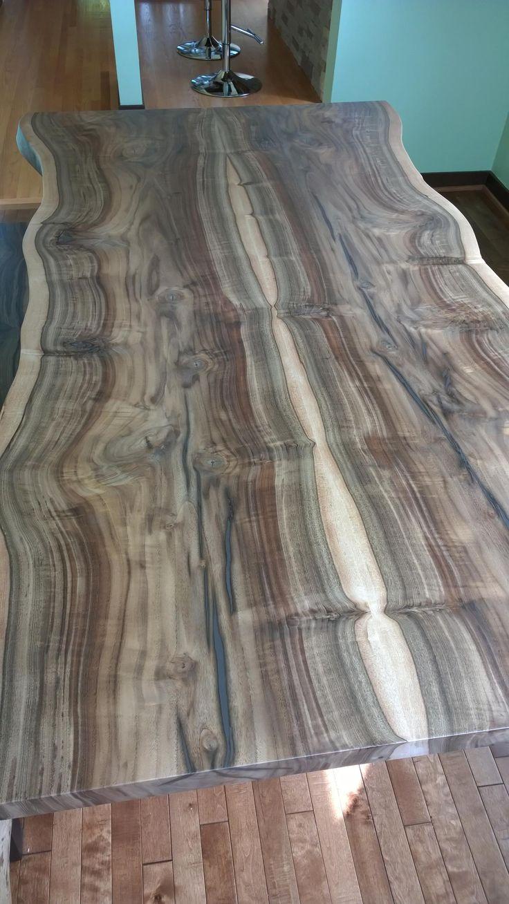 Northwest Wood Design | Live Edge Wood Table | Seattle Washington
