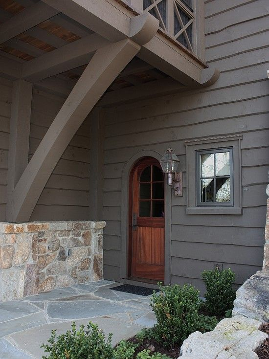 Traditional Exterior Design, Pictures, Remodel, Decor and Ideas - page 36--Like this door!
