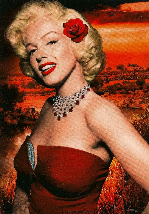 Marilyn,  Red Hot Tropical Night