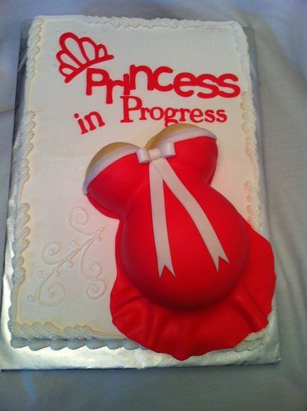 baby bump cake for baby shower!