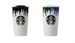 Starbucks x Band of Outsiders limited edition ceramic coffee mug.