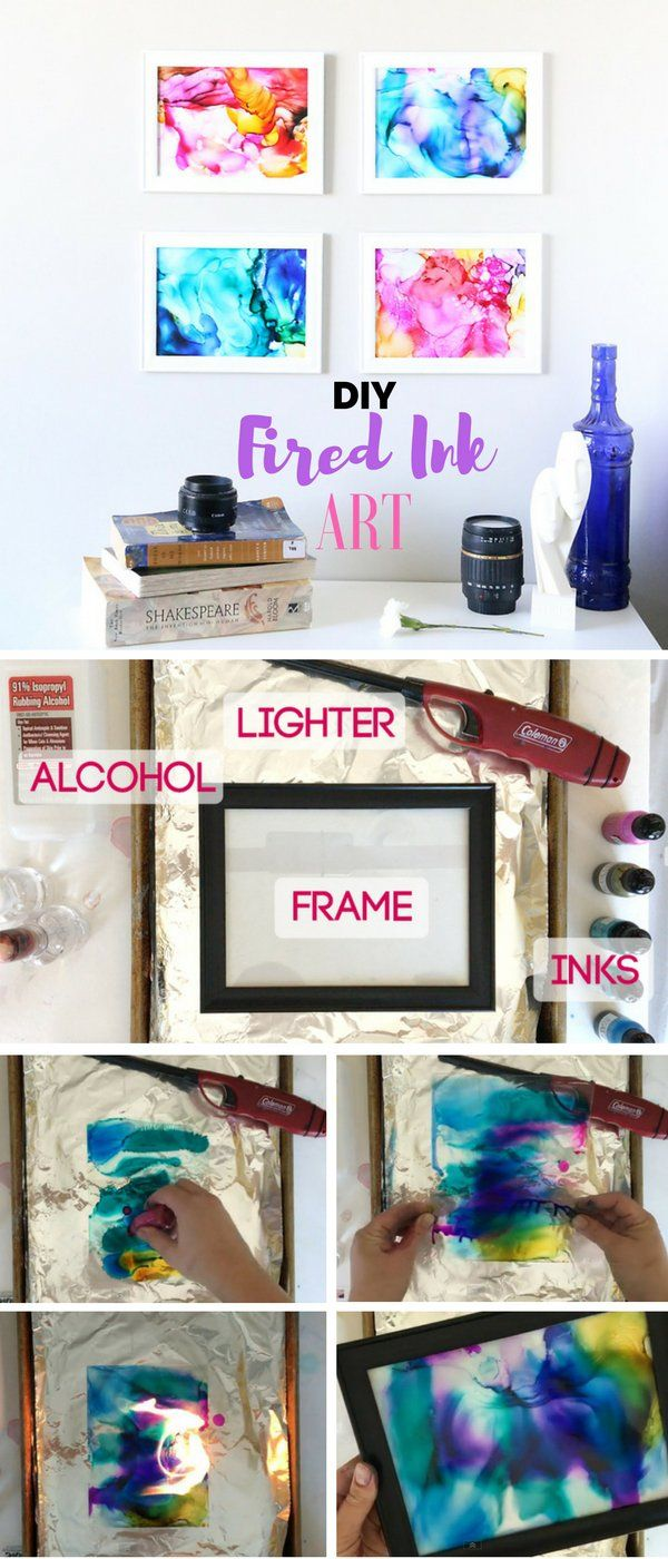 Check out the tutorial: #DIY Fired Ink Art @istandarddesign