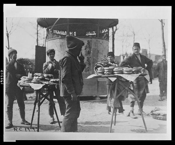 Simit #İstanbul, 1920