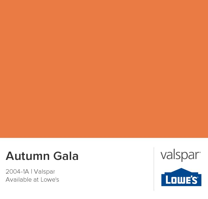 Autumn Gala from Valspar