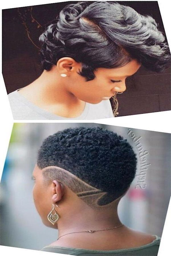 Black Women Hairstyles 2016 Layered Bob Black Hair Undercut Hairstyle Female Black Hair Undercut Undercut Hairstyles Hair Styles 2016