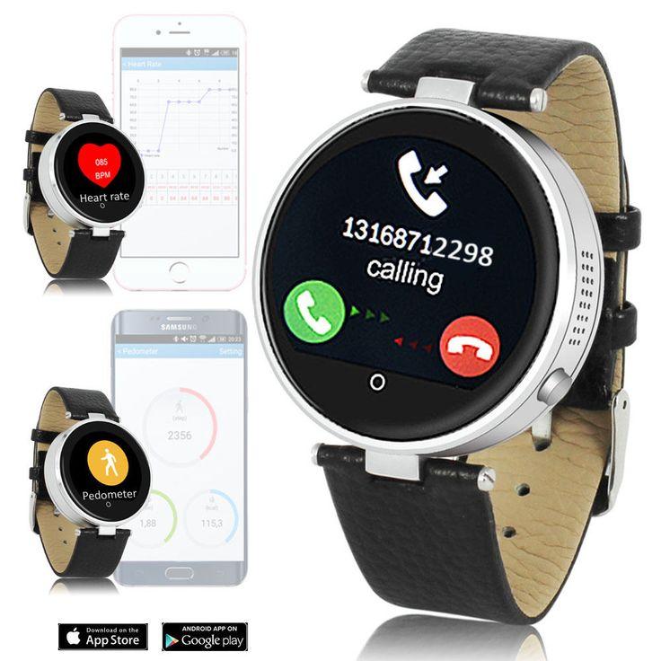 Indigi H365 Bluetooth Sync Smart Watch Heart Rate Monitor Sensor Siri for iPhone #Indigi #BluetoothSmartWatch