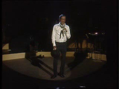 "Sammy Davis Jr. performing my favorite song ever, ""Mr. Bojangles"". It gets me every time, I swear."