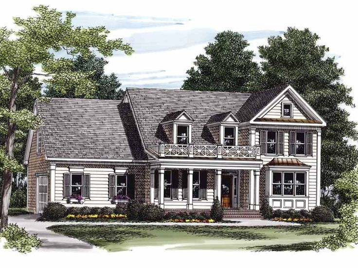 Eplans Colonial House Plan