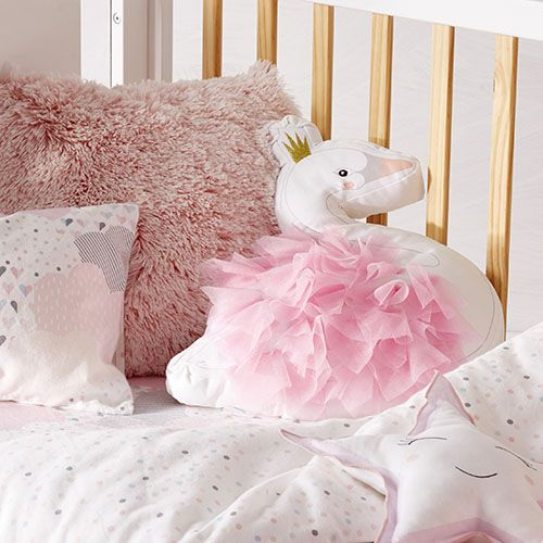 Dream Cloud Flannelette Cot Quilt Cover Set