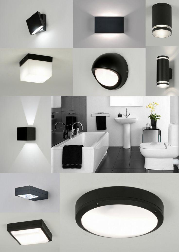 Zwart/wit badkamer ? Wij hebben diverse passende badkamer wand en plafond armaturen.