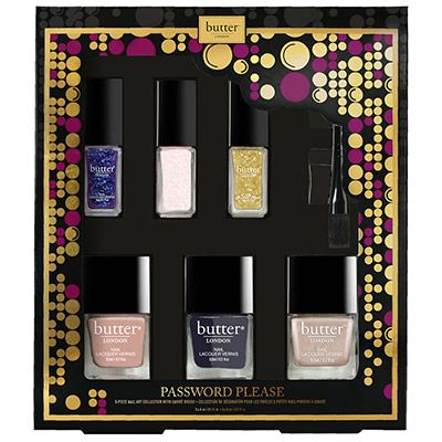butter LONDON Invite Only 2015 Password Please Nail Art Set