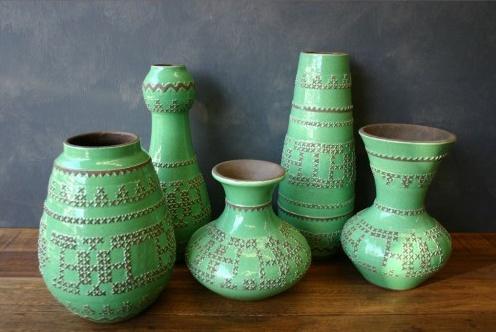 [Ellia] HAVE YOU MET MISS JONES Stitch Clay Pots