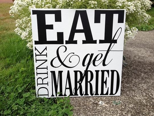 Personalized Wedding Signs by Limited Lane | Hatch.co #Personalized #Wedding