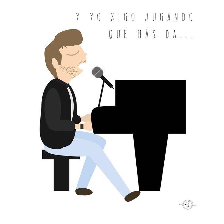 Canciones para escuchar una y otra vez... #elpatio #pablolopez @pablolopezmusic . . . #yosigojugando #vector #illustrator #musicart #illustration #graphicdesign #adobeillustrator
