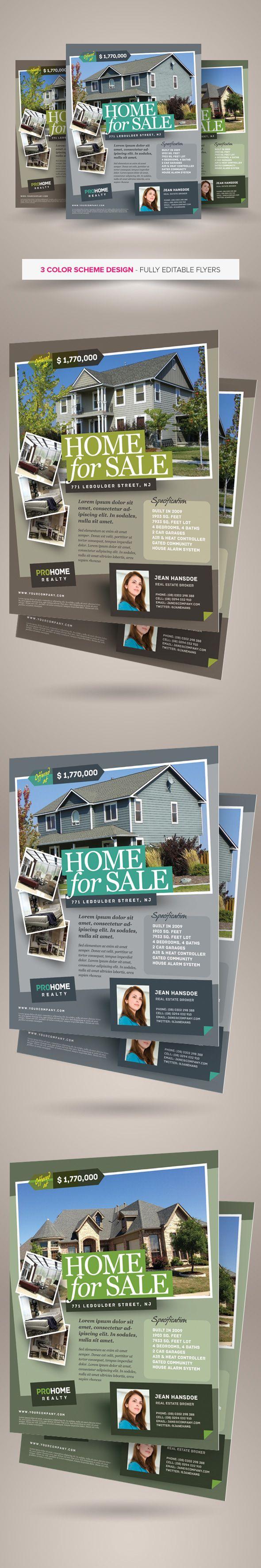https://www.behance.net/gallery/28834085/Real-Estate-Flyer-Template