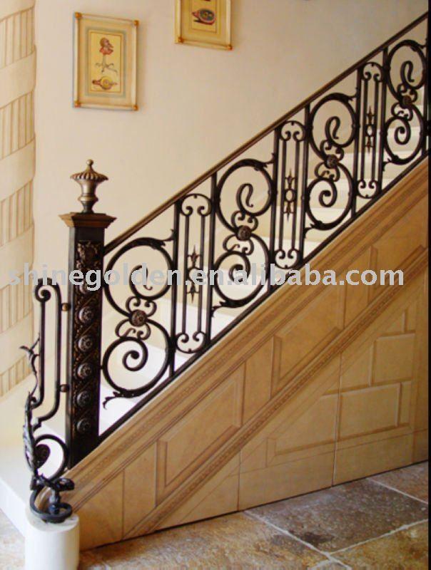 Best Straight Decorative Interior Wrought Iron House Indoor 640 x 480