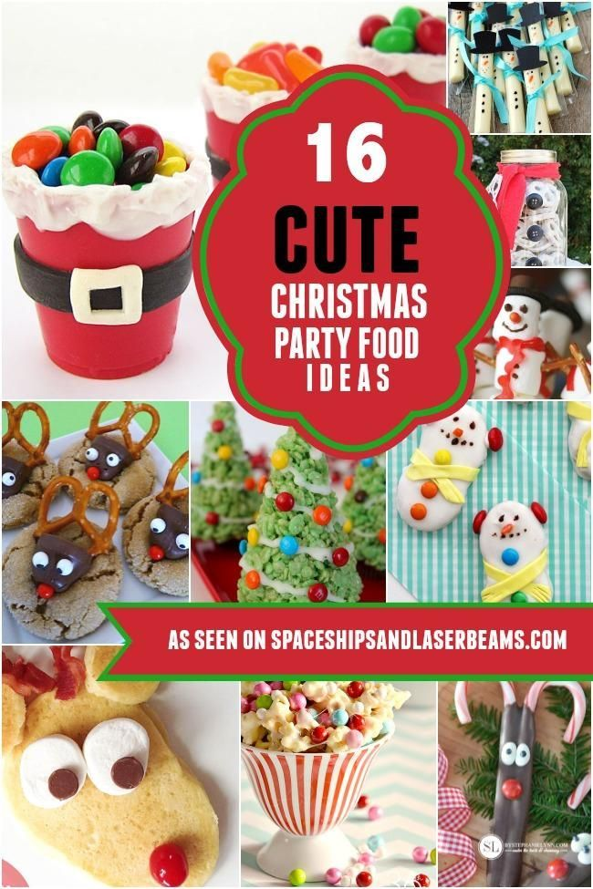 16 Cute Christmas Party Food Ideas Kids Will Love