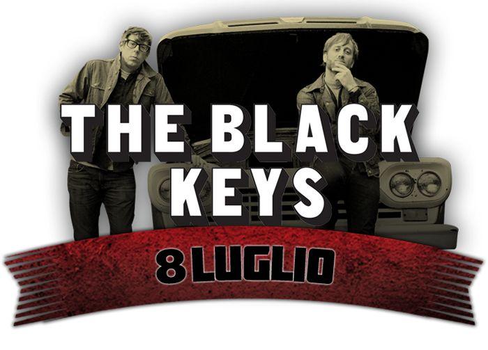 The Black Keys concerto rock in Roma 2014 - Ippodromo delle Capannelle - Roma | concerti roma, festival musica roma, musica roma, the-base, rockinroma 2013,radiohead live roma,nexine