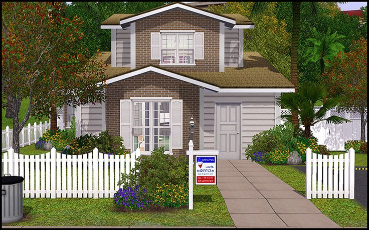 178 best sims 3 lots images on pinterest homes house for Sims 3 family home ideas