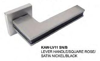 $102  <ul>  <li>  Designed & Manufactured by KAWAJUN, JAPAN</li>  <li>  Finish: Satin Nickel + Black</li>  </ul>