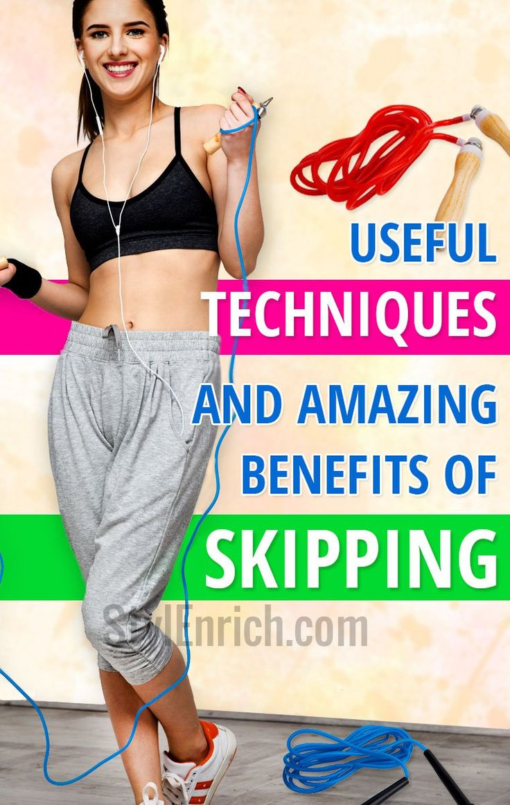 Benefits of Skipping And Useful Techniques To Jump The Rope