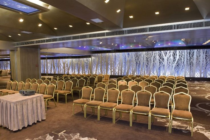 Innovative, unique and extremely striking, the banquet room SILVER FOREST. Modern decor and audiovisual equipment of latest technology compose an exceptional venue for a meeting, dinner or get together. http://www.rbathenspark.com