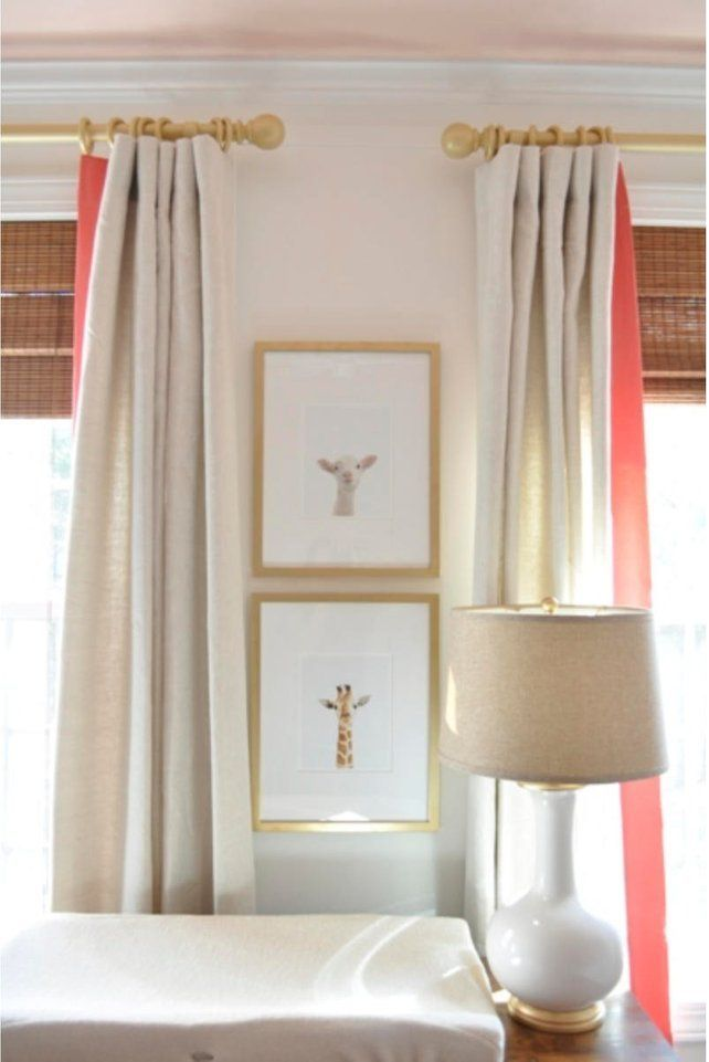 Nursery Decoration With Images Coral Curtains