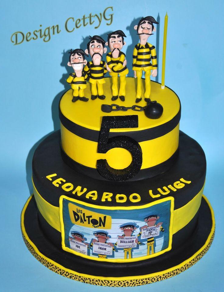 Le torte decorate di CettyG...: I Dalton Cake ....