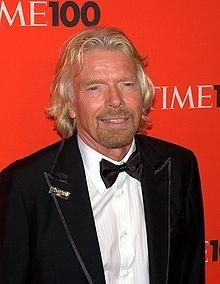 Richard Branson - Wikipedia, the free encyclopedia.  Read his biography, he seems like a neat guy...if neat is still a phrase...