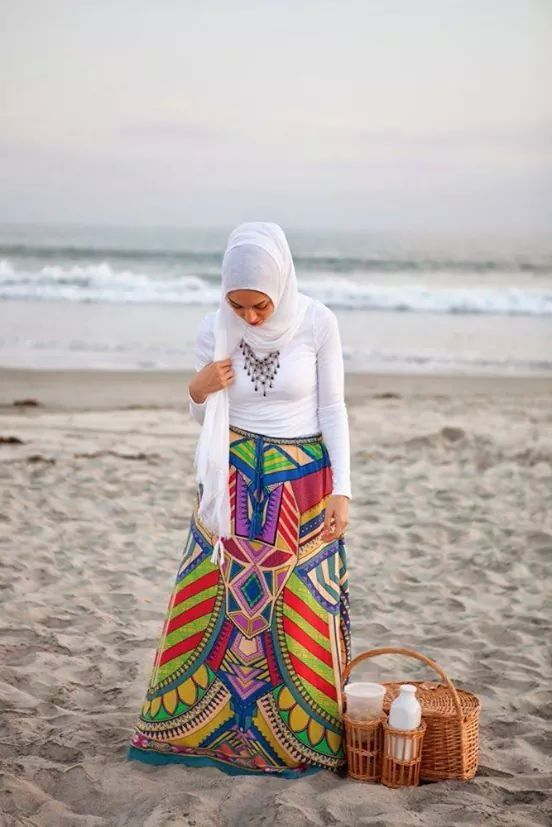 Hijab colorful