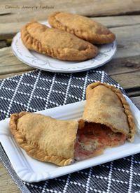Calzoni integrali fritti o al forno ricetta molto sfiziosa e saporita
